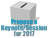 Propose a Keynote/Session for 2017